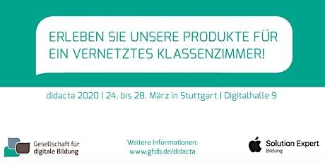 didacta 2020 - Gesellschaft für digitale Bildung (Digitalhalle) tickets