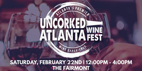 Uncorked Atlanta Wine Festival tickets