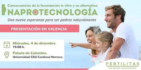 Valencia: Consecuencias de la FIV y su alternativa: la Naprotecnología entradas