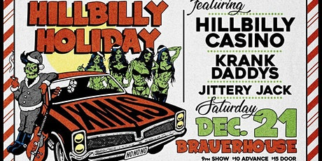 Hillbilly Holiday Party with Hillbilly Casino at Brauer House tickets