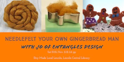 Etsy Made Local Lincoln Needlefelting Workshop