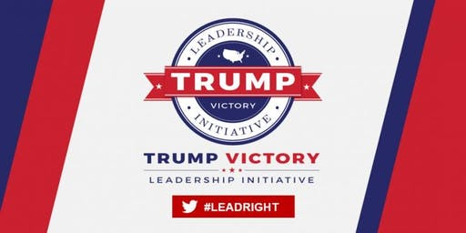 Trump Victory Leadership Initiative Voter Registration Training