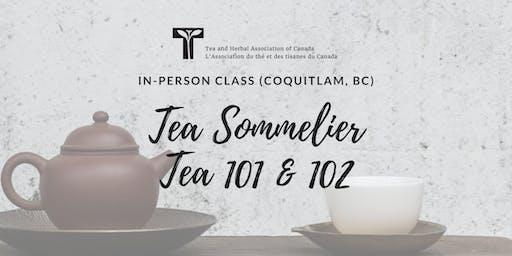 TEA 101 & 102: In-person class (THAC Coquitlam, BC)
