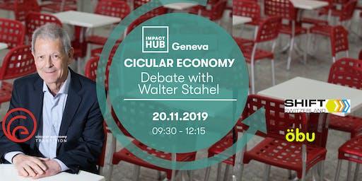 Debate with Walter Stahel