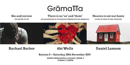 Session 5 - Gramatta - Amateur Theologian's Network