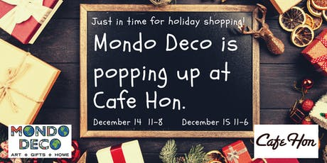 Holiday Pop-Up Gift Shop  @ Cafe Hon tickets
