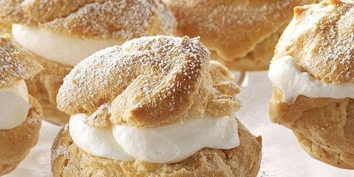 MAKE-AND-TAKE BAKING CLASS: CREAM PUFFS