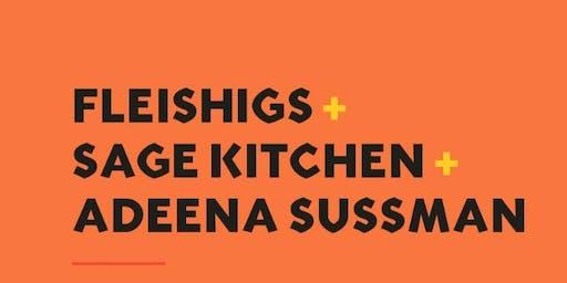 Fleishigs x Sage Kitchen x Adeena Sussman = SABABA