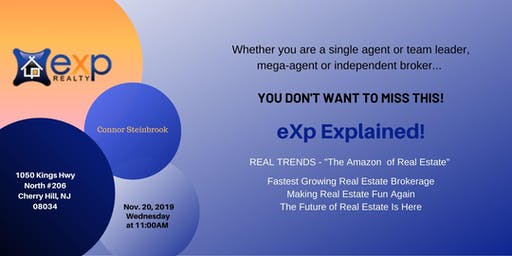 SJ eXp Realty Lunch and Learn with Connor Steinbrook
