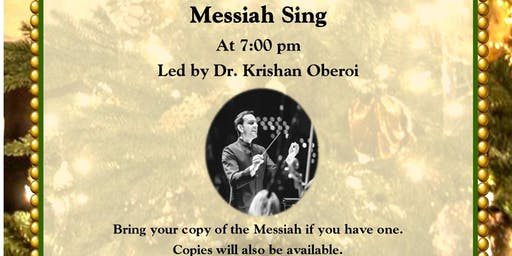 Messiah Sing a long & Community Tree Lighting