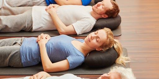 Stress Relief: Restorative Yoga to Renew You!