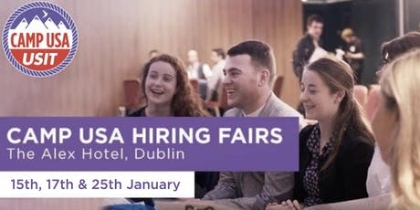 Camp USA Hiring Fair - Jan 25th, Dublin tickets