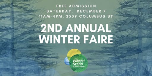 Waldorf School of New Orleans Winter Faire