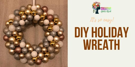 CGR Master Class: Holiday Ornament Wreath Class