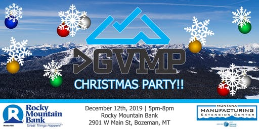 2019 GGVMP Christmas Party sponsored by Rocky Mountain Bank