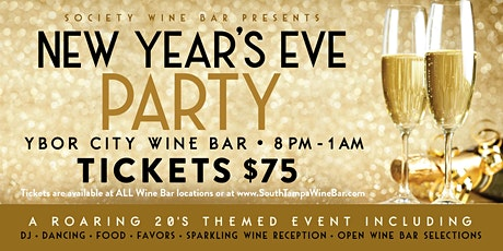 Ybor City Wine Bar: 2019 New Year's Eve Party tickets