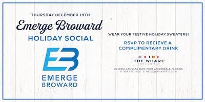 Holiday Social at The Wharf