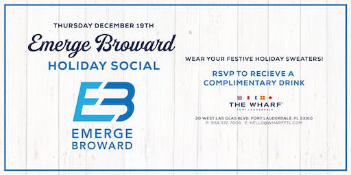 Holiday Social at The Wharf