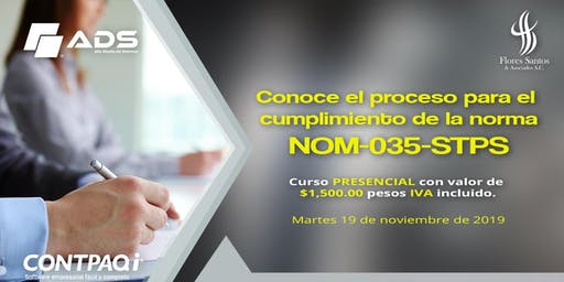 CURSO PRESENCIAL NOM-035