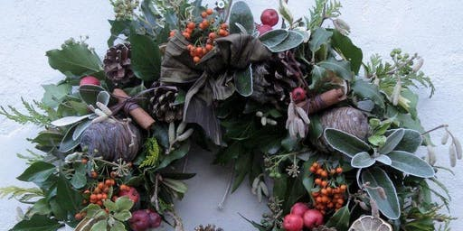 Festive wreath making at The Woolwich Winter Warmer