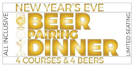 New Year's Eve Beer Pairing Dinner