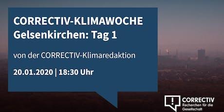 Klimakrise Lokal - CORRECTIV Klimawoche Gelsenkirchen Tag 1 Tickets