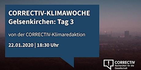 Der Pott bewegt sich (nicht...) - CORRECTIV Klimawoche Gelsenkirchen Tag 3 Tickets