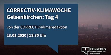 Aktivismus trifft Realpolitik - CORRECTIV Klimawoche Gelsenkirchen Tag 4 Tickets