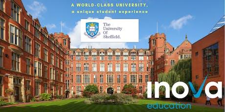 Estudia tu PhD en la Universidad de Sheffield - sesión informativa, también en línea boletos