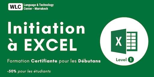 Formation Certifiante 100% Pratique  en EXCEL pour les Débutants (niv 1)