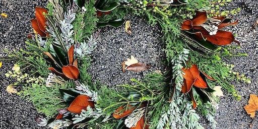 Custom Holiday Wreath Workshop