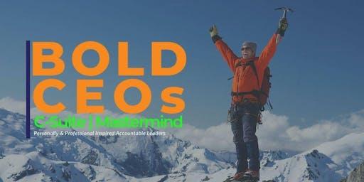 Bold CEO C-Suite | Mastermind