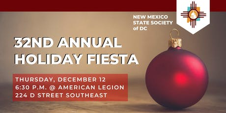 32nd Annual Holiday Fiesta tickets