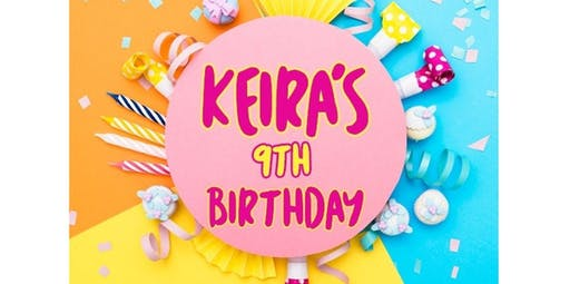 PRIVATE CLASS: Keira's 9th Birthday (12-15-2019 starts at 2:30 PM)
