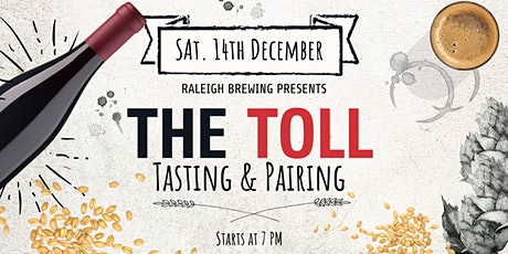 The Toll : Tasting and Pairing tickets