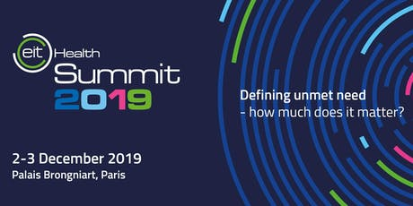 EIT Health Summit 2019 tickets