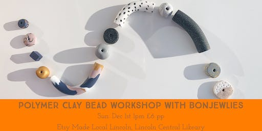 Etsy Made Local Lincoln Polymer Clay Bead Workshop
