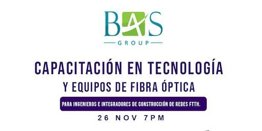 Capacitación eb Tecnología y Equipos de Fibra ´Óptica
