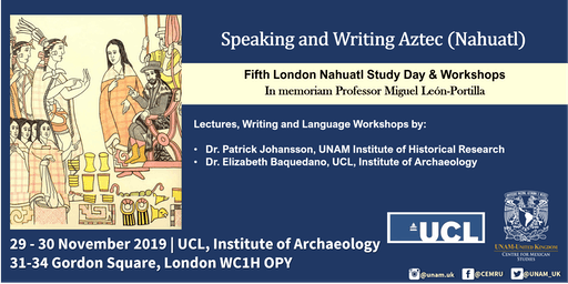Fifth London Nahuatl Study Day & Workshops