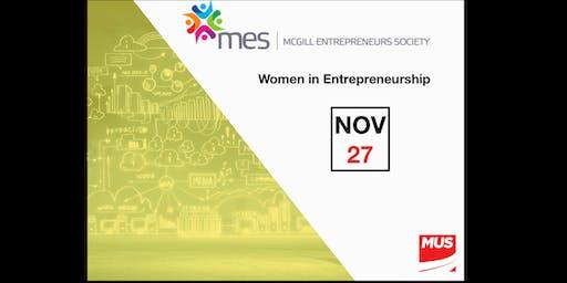 Women in Entrepreneurship by McGill Entrepreneurs Society