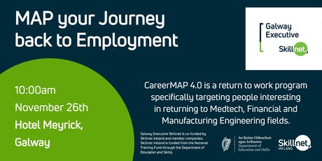 MAP your Journey back to Employment - Information Session - Ready to Return tickets