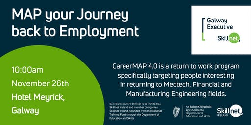 MAP your Journey back to Employment - Information Session - Ready to Return