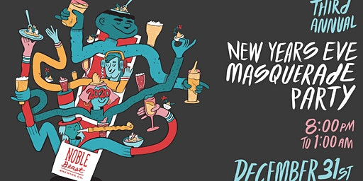 Noble Beast NYE Masquerade Party