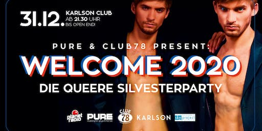 PURE & CLUB78 present: WELCOME 2020