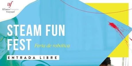 Steam Fun Fest en la Alianza Francesa de Samborondón entradas