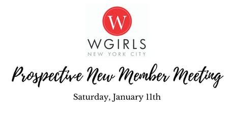 WGIRLS NYC Prospective New Member Social tickets