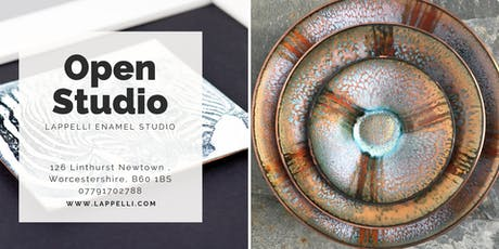 Christmas Open Studio - Lappelli Enamel Studio tickets