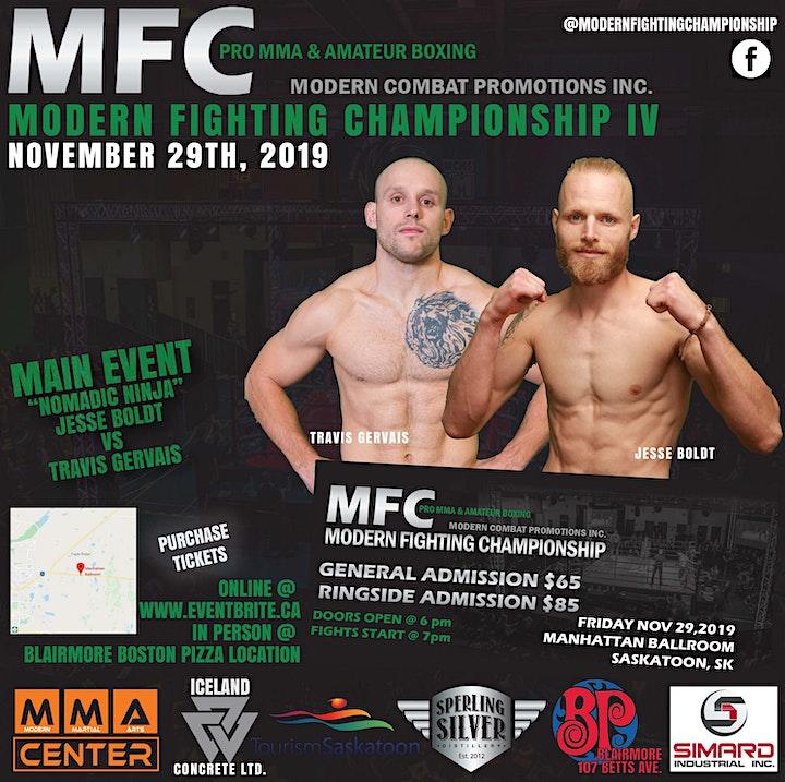 Modern Fighting Championship IV image