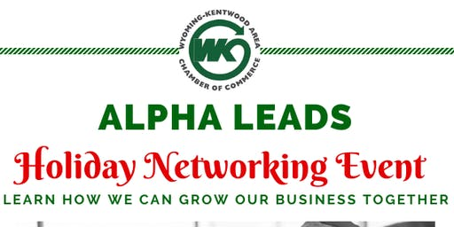Alpha Leads Group Open Networking Holiday Event