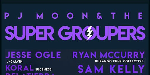 PJ MOON & the SUPER GROUPERS